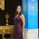 Virginia Díaz en la presentación de Navidad de RTVE