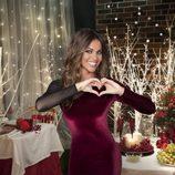 Lara Álvarez posa para la presentación de Navidad de Mediaset