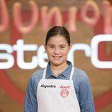 Alejandra, concursante de 'Masterchef Junior 4'