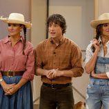 El jurado y Eva se visten de granjeros en 'MasterChef Junior 4'