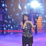 Thais cantando en la final de 'La Voz'