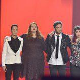Los cuatro finalistas de 'La Voz'