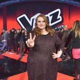 Irene se convierte en ganadora de 'La Voz'