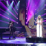 Beatriz Luengo es Toni Braxton durante la undécima gala de 'Tu cara me suena'