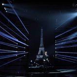 Blas se viste de Charles Aznavour en la undécima gala de 'Tu cara me suena'