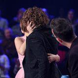 Lorena Gómez se viste de David Bisbal para besar a Chenoa en la undécima gala de 'Tu cara me suena'