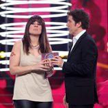 Rosa López, ganadora de la undécima gala de 'Tu cara me suena'