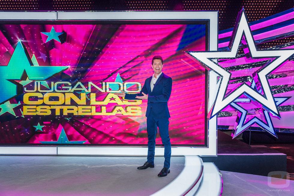 Jaime Cantizano será el presentador de 'Jugando con las estrellas'