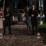 Varios personajes de 'Velvet' en la boda entre Ana y Alberto en 'Velvet'
