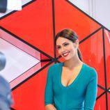 Cristina Pedroche posa ante los cámaras durante la presentación de 'Tú sí que sí'