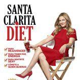 Drew Barrymore anuncia la dieta zombie en el póster de 'Santa Clarita Diet'