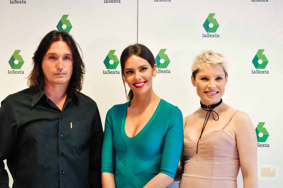 Rafa Méndez, Cristina Pedroche y Soraya Arnelas, parte del equipo de 'Tú sí que sí'