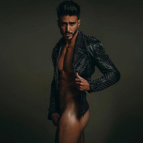 El italiano Marco Ferri ('Gran Hermano VIP 5') posa semidesnudo en una sesion de fotos