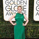 Anna Chlumsky ('Veep') posa en la Alfombra Roja de la 74ª edición de los Globos de Oro