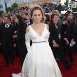 Sarah Jessica Parker, nominada por 'Divorce', posa en la Alfombra Roja de la 74ª edición de los Globos de Oro