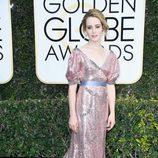 Claire Foy, nominada por 'The Crown', en la Alfombra Roja de la 74ª edición de los Globos de Oro