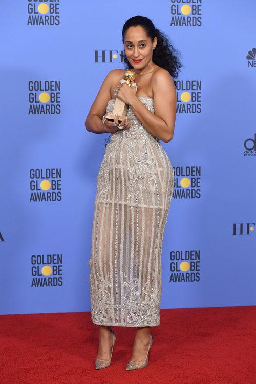 Tracee Ellis Ross, ganadora del Globo de Oro a Mejor actriz de comedia por 'Black-ish'
