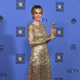 Sarah Paulson, ganadora del Globo de Oro a Mejor actriz de miniserie por 'American Crime Story'