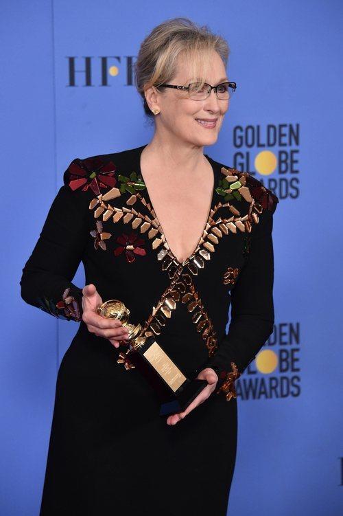 Meryl Streep, ganadora del Globo de Oro por su trayectoria