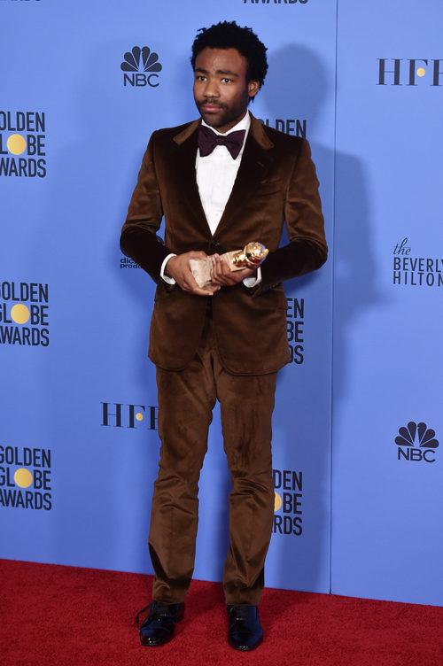 Donald Glover, ganador del Globo de Oro a Mejor actor de comedia por 'Atlanta'