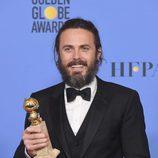 Casey Affleck, ganador del Globo de Oro a Mejor actor de drama por 'Manchester by the Sea''