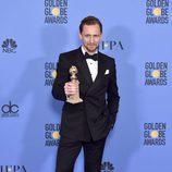 Tom Hiddleston, ganador del Globo de Oro a Mejor actor de miniserie por 'El infiltrado'
