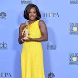 Viola Davis, ganadora del Globo de Oro a Mejor actriz de reparto por 'Fences'