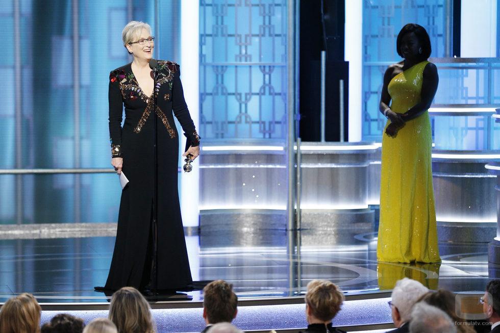 Discurso de Meryl Streep durante los Globos de Oro 2017