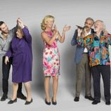 La familia Alcántara al completo en la decimoctava temporada de 'Cuéntame cómo pasó'