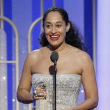 Tracee Ellis Ross recoge su Globo de Oro a Mejor actriz de comedia por su papel en 'Black-ish'