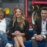 Alejandro Abad, Alyson Eckmann y Sergio Ayala en la primera gala de 'GH VIP 5'