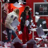Aless Gibaja e Irma Soriano en la primera gala de 'GH VIP 5'
