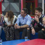 Aless Gibaja, Ivonne Reyes, Alonso Caparrós, Marco Ferri y Daniela Blume en la primera gala de 'GH VIP 5'