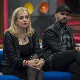 Emma Ozores y Tutto Durán en la primera gala de 'GH VIP 5'