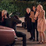 La familia Alcántara asustada en el primer episodio de la 18º temporada de 'Cuéntame cómo pasó'