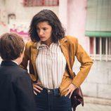 Inés Alcántara, en el estreno de la temporada 18 de 'Cuéntame cómo pasó'