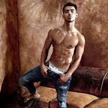 Joe Jonas posa desnudo para la nueva campaña de Guess