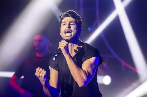 """Fruela canta """"live it up"""" en la final de 'Eurocasting'"""