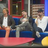 Alonso, Alejandro, Toño y Tutto en la segunda gala de 'Gran Hermano VIP'