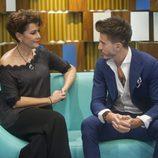 Marco e Irma en el confesionario de 'Gran Hermano VIP'