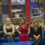 Irma, Emma, Ivonne, Terelu y Aless en la segunda gala de 'Gran Hermano VIP'