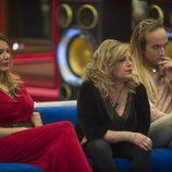 Ivonne Reyes, Terelu Campos y Aless Gibaja en 'Gran Hermano VIP'