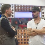 Toño y Tutto durante la segunda gala de 'Gran Hermano VIP'