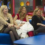Emma, Ivonne y Terelu en la segunda gala de 'Gran Hermano VIP'