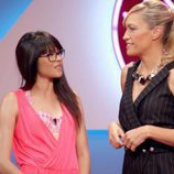 Luján Argüelles junto con la protagonista del segundo programa de 'Tú, yo y mi avatar'