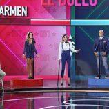 Carmen Alcayde y Kiko Matamoros se baten en un duelo en el primer debate de 'GH VIP 5'