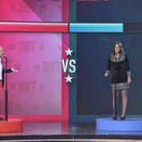 Víctor Sandoval y Ángela Portero se baten en un duelo en el primer debate de 'GH VIP 5'