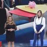 Terelu Campos y Sandra Barneda en el primer debate de 'GH VIP 5'