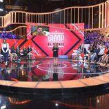 Terelu Campos en el plató del primer debate de 'GH VIP 5'