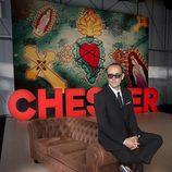 Risto Mejide apoyado en el chéster del nuevo 'Chester in Love'